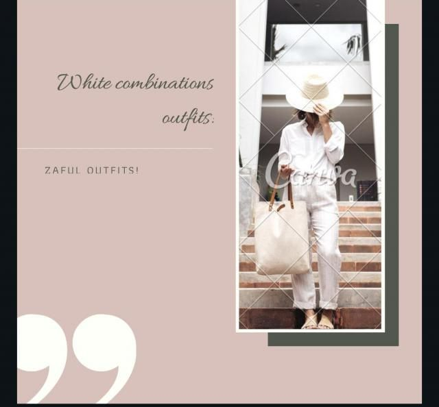 White combinations style! There's a lot to love about white pants. They're chic, they're stylish, and they make an…