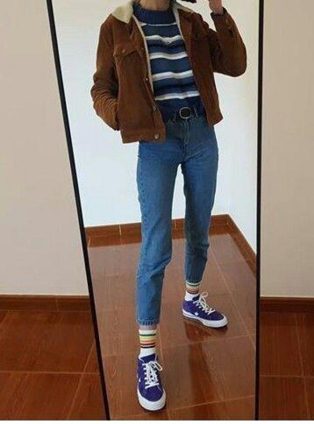 OUTFITS con chaquetas café es la nueva moda  <3