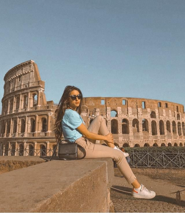 Colosseum in the capital of the world, Rome