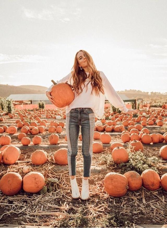 Nothing better than fall and pumpkins