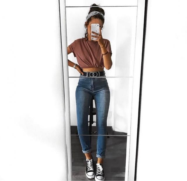 so in love with these high waisted jeans x