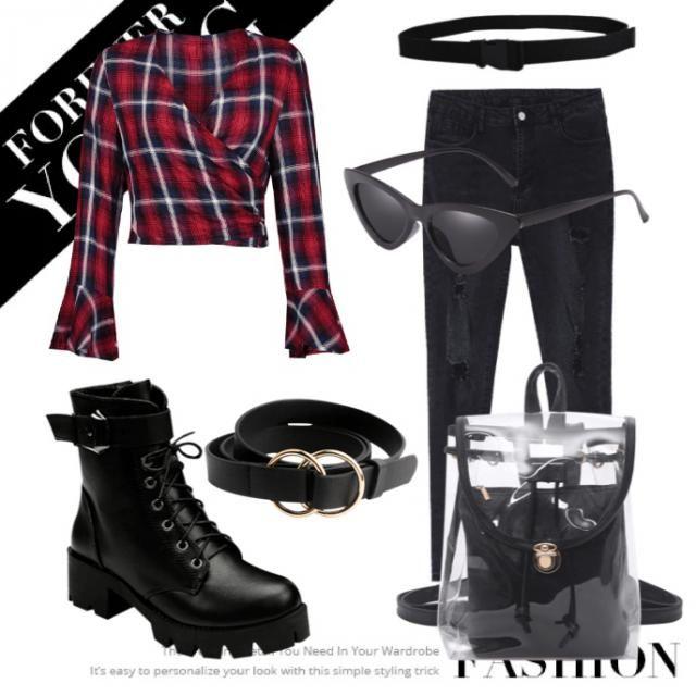 Red fashion ❤️