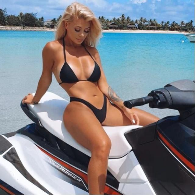 Jet ski at the beach is a perfect activity to do on summer