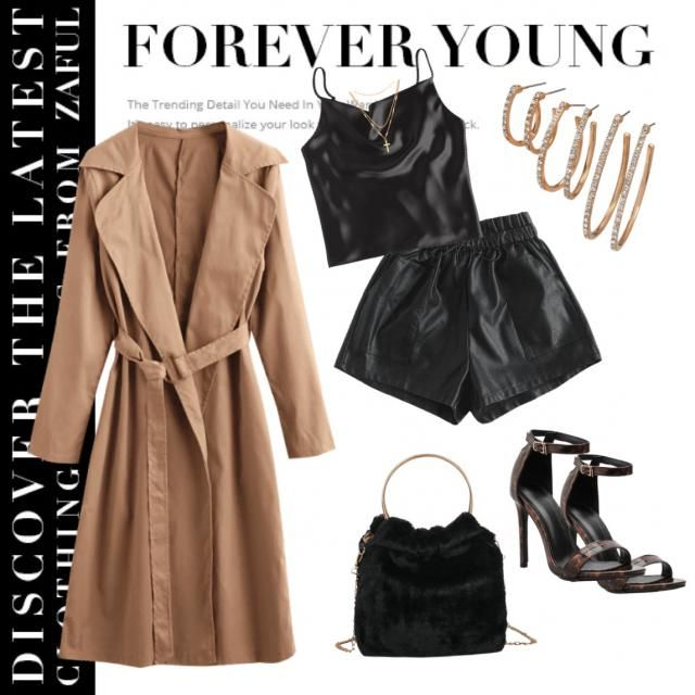 You can never go wrong with a trench coat :)
