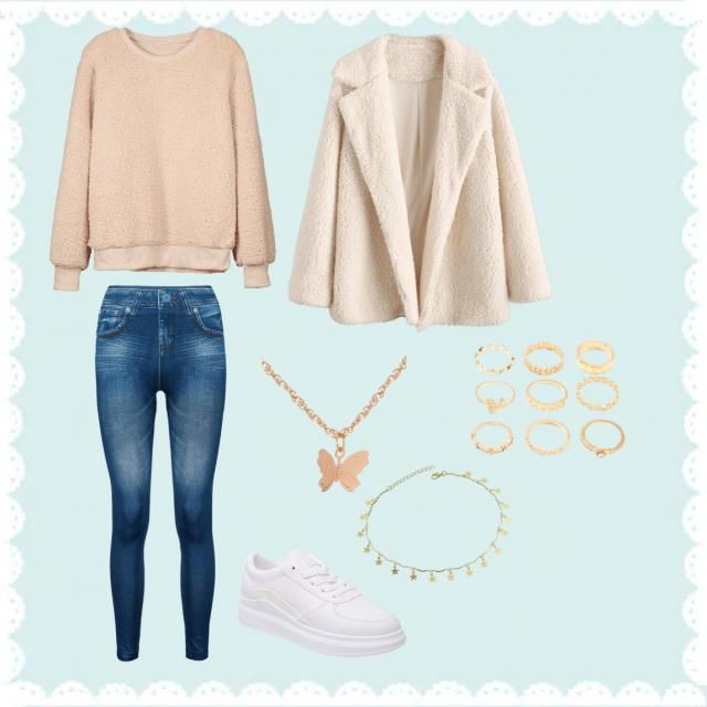 Everday basic outfit.