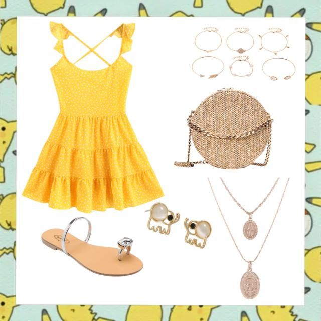 Summery outfit.