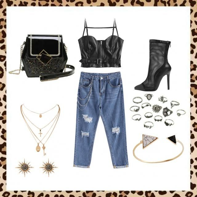 Just rockin' your world with this outfit!