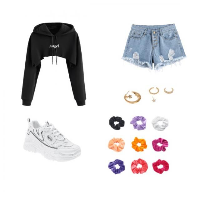 Cute and causal outfit for anything