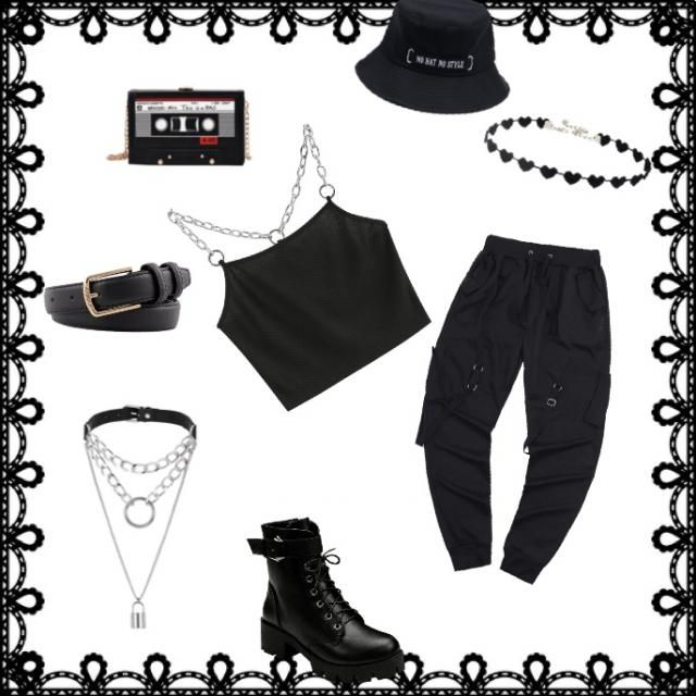E- girl outfit