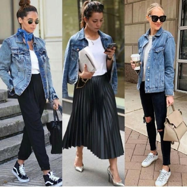 3 ways to style your denim jacket