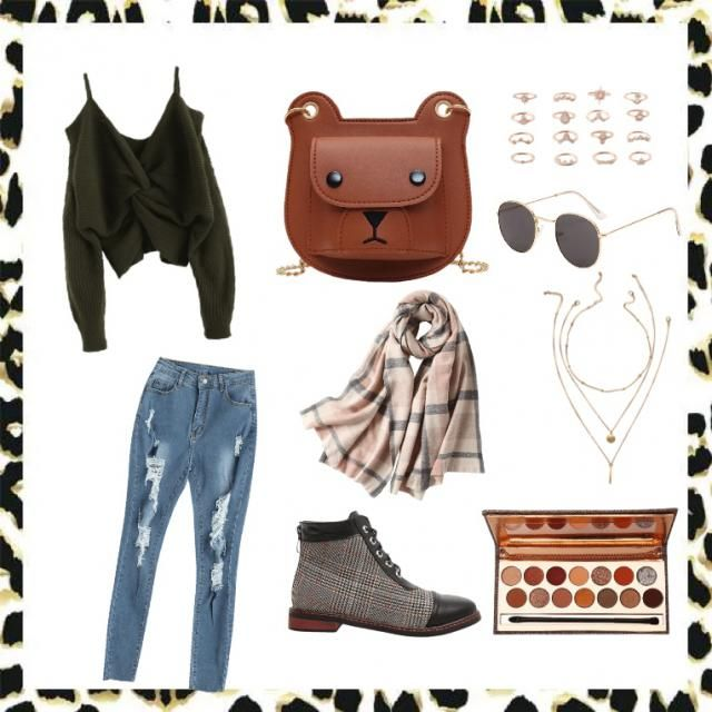 The is a great outfit for a semi-casual date in the fall