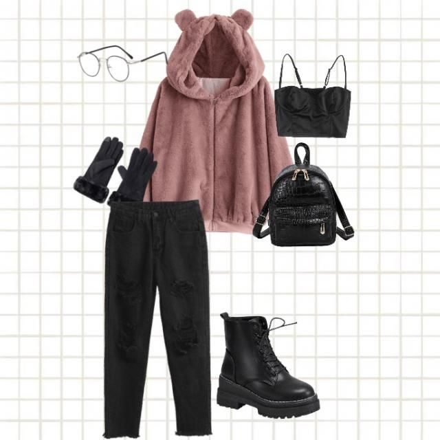 There's gonna be cold outside but that doesn't mean you could't wears some cute clothes like these!<3