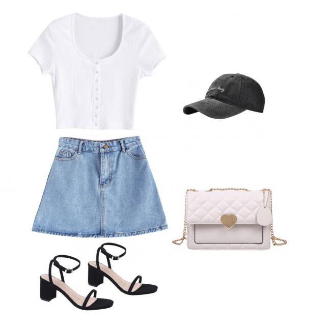 Grocery shopping but make it fashion