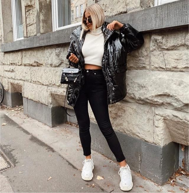 Leather jacket will match every outfit you have
