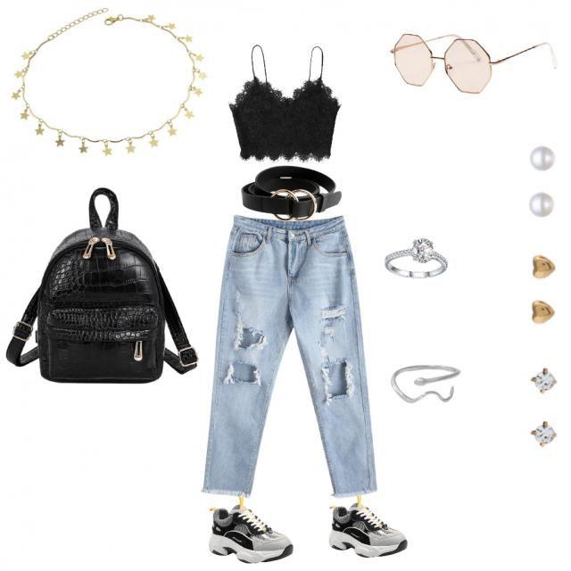 Un outfit ideal para una ocasión *casual* y en verano. Lo puedes portar también…