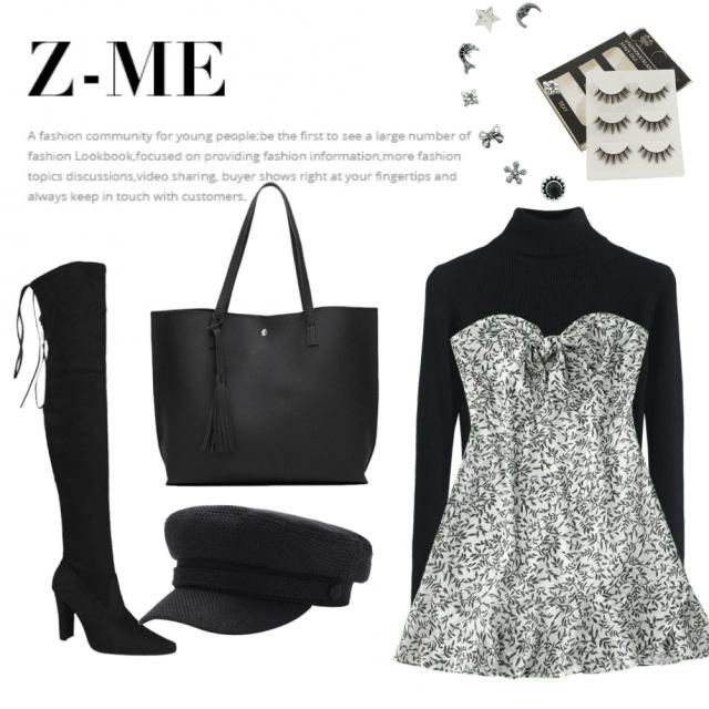 a cute but sophisticated day look for the cold months with s couple of accessories x