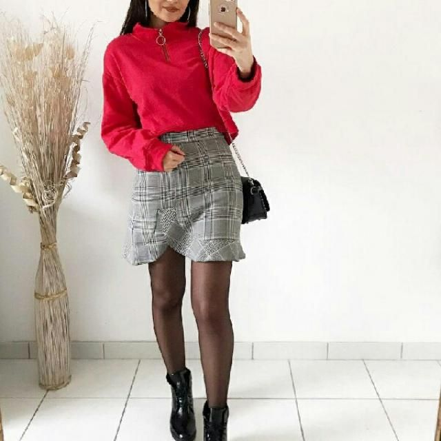 cute feminine simple look, you can find some items similar to this here on zaful
