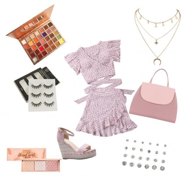 Another cute pink outfit!