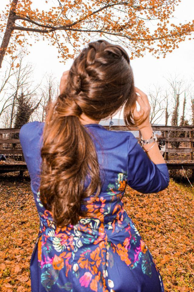 quanto  adoro intrecciare i capelli? questa è  una delle due trecce che realizzo  nei miei tutorial❤vi piace?? b…