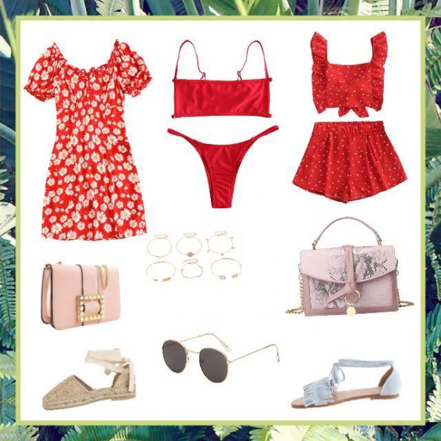 Hot red summer