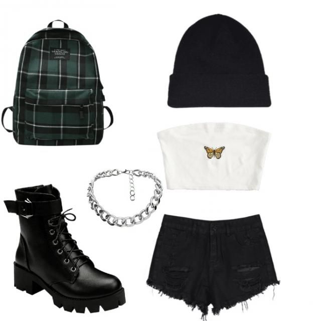 This outfit is very cute and looks like your a bad chick walking out of a party!!!
