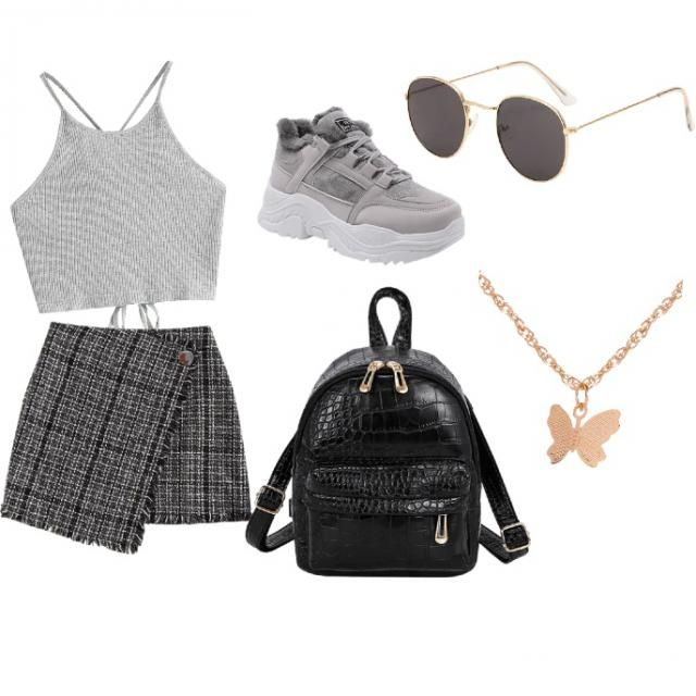 Back to school casual everyday look