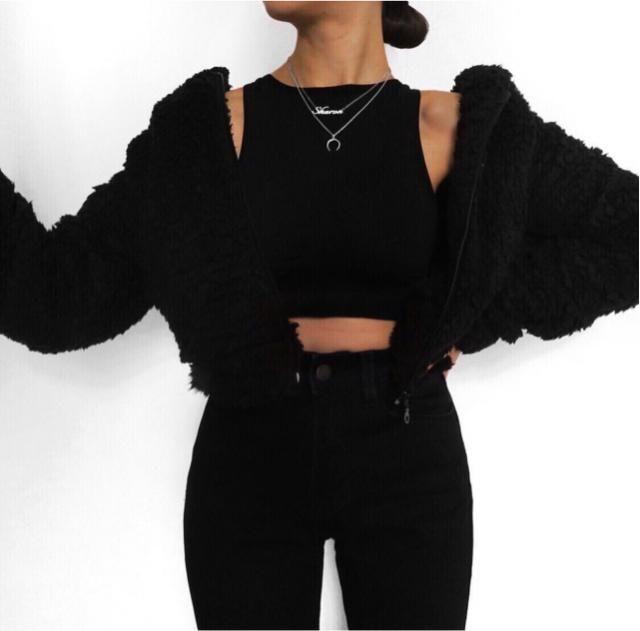 total black as always