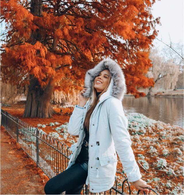 Perfecto para estos días de frío!!!! Me encanta mi nuevo abrigo de