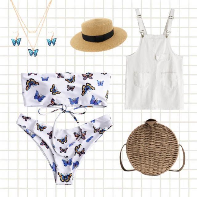 Butterfly theme summer