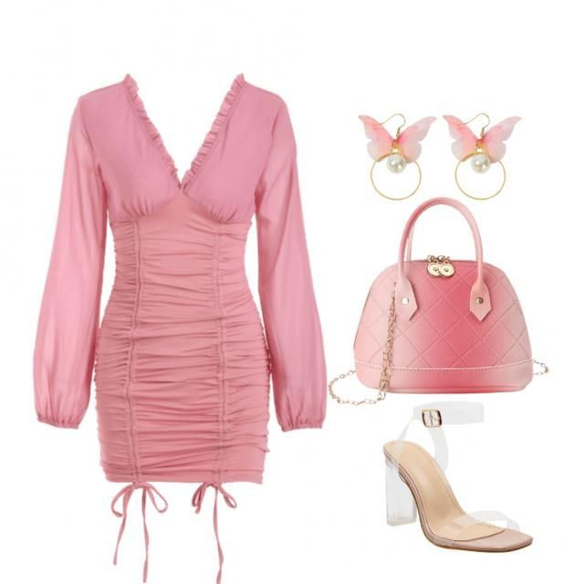 All pink