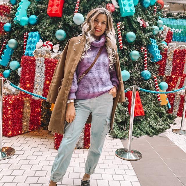Me encanta sacarme fotos con los arboles de navidad decorados de diferentes maneras! Os he comentado ya cu…