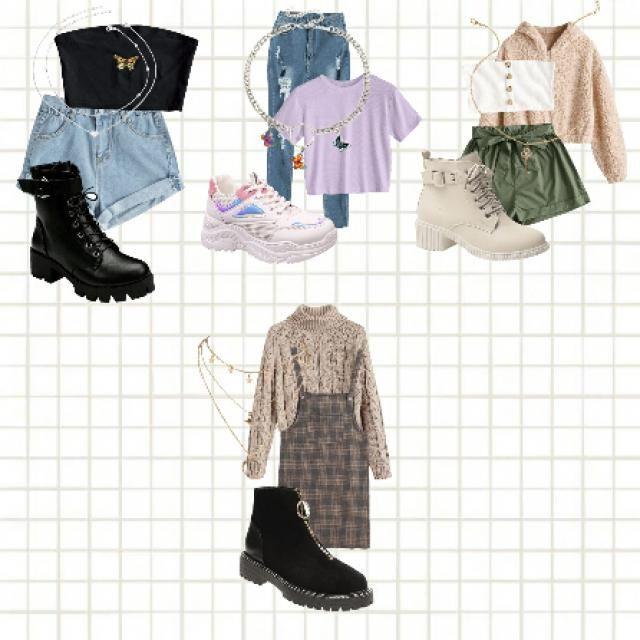 Some outfit ideas from Zaful for school