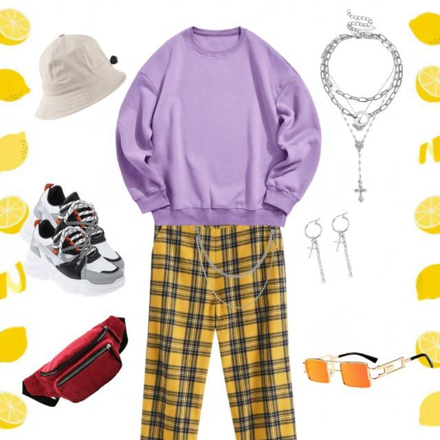 yellow and purple drip drip