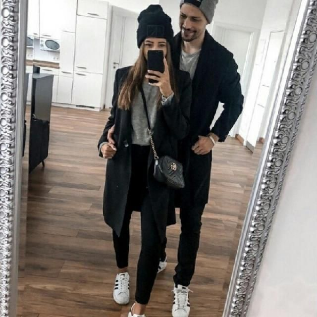 couple goals I love these black coats