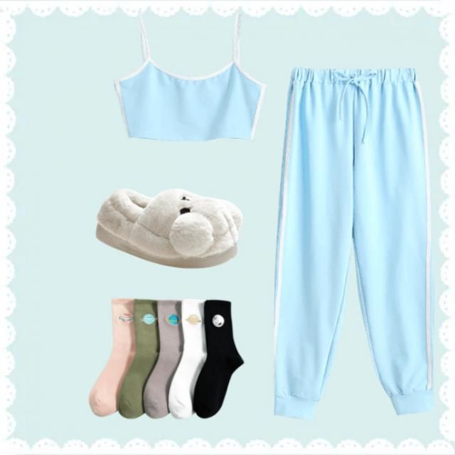 Chill babyblue outfit