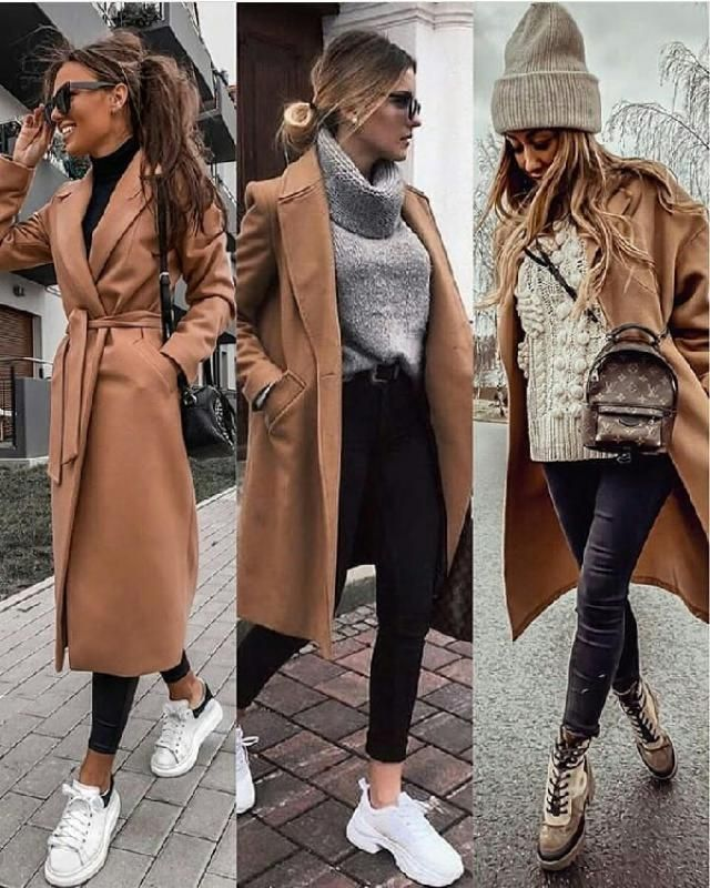3 fancy ways to style your khaki long coat
