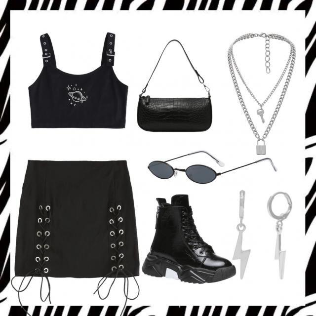 astro goth girl