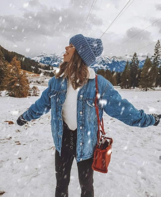 The most perfect jacket in the world and it's on SALE.  P.S. Tasting snowflakes, happines overload.