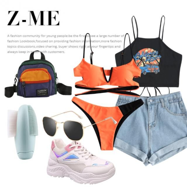 estou querendo ir pra praia !!  o que acharam desde outfit ???