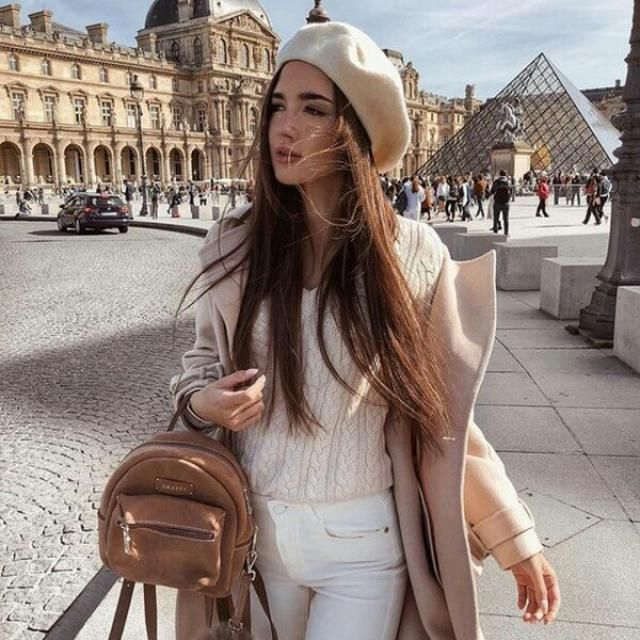 I love this neutral outfit