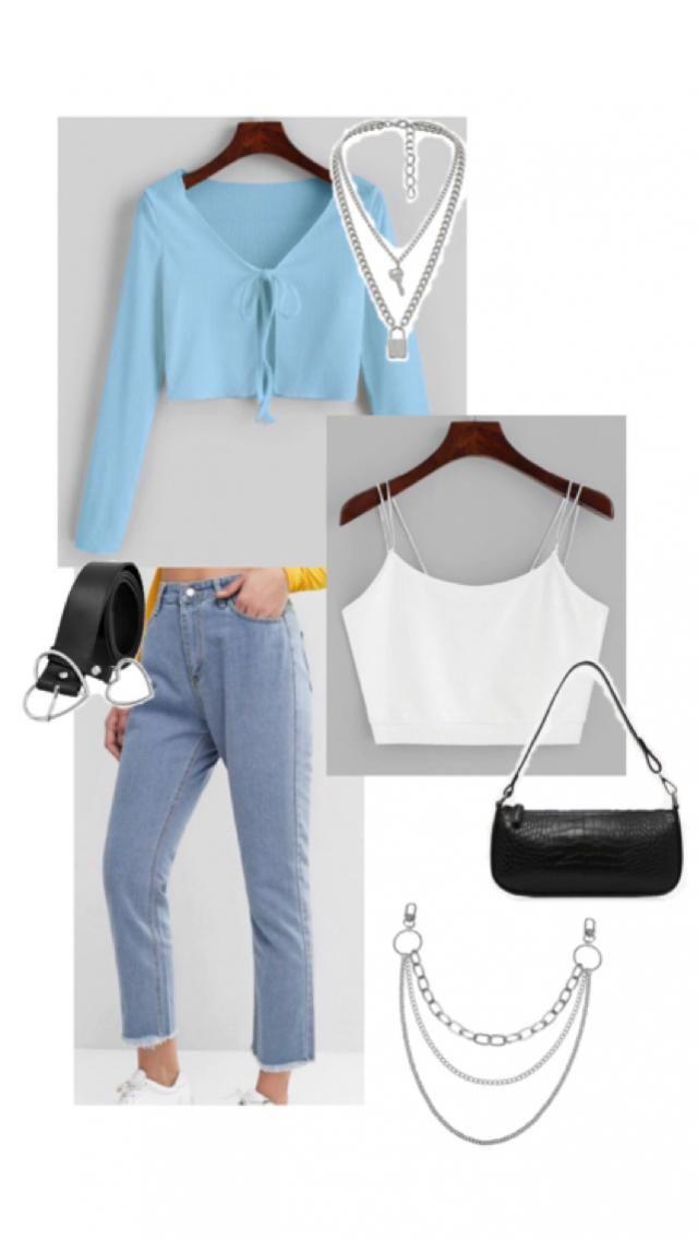 blue & white ~ soft & edgy juxtaposition
