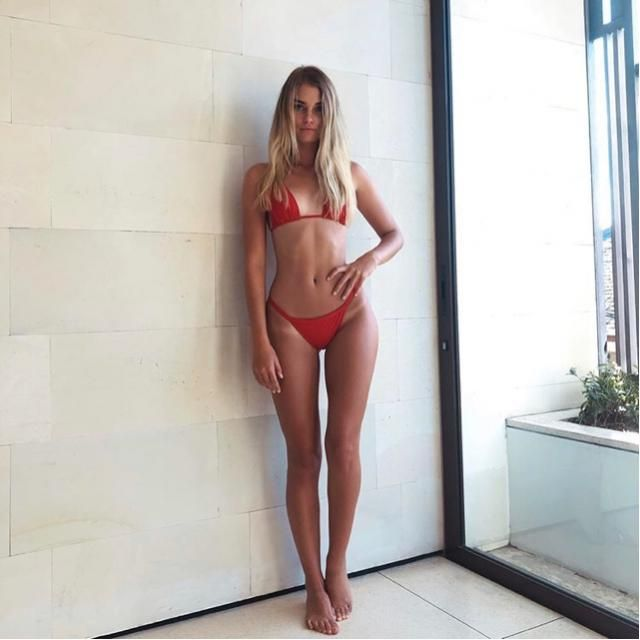 This red bikini is gorgeous, yay or nay?