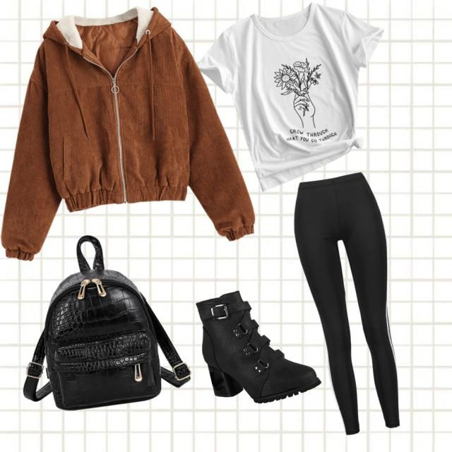 a layered fall look