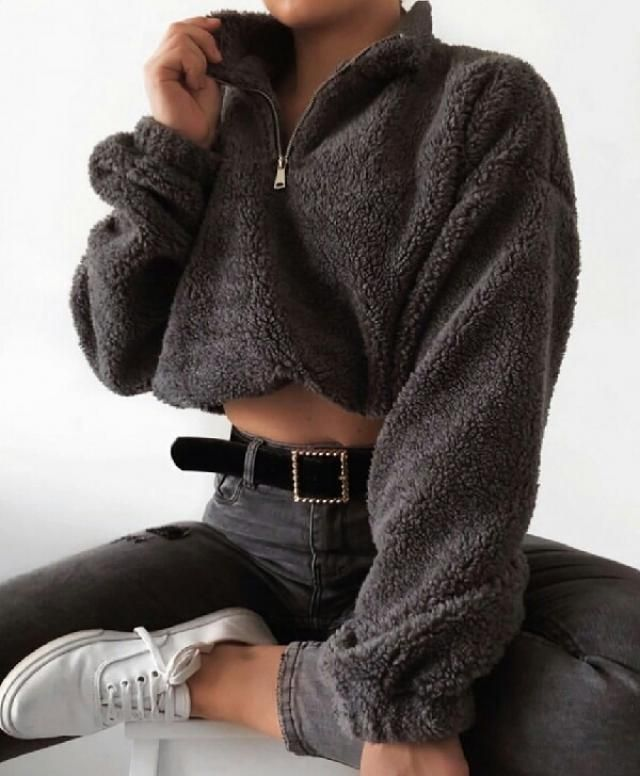 casual teddy sweatshirt I love the color of this one