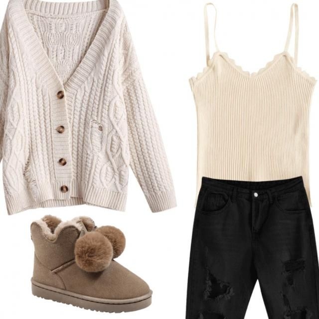 Cozy/ lazy day outfit
