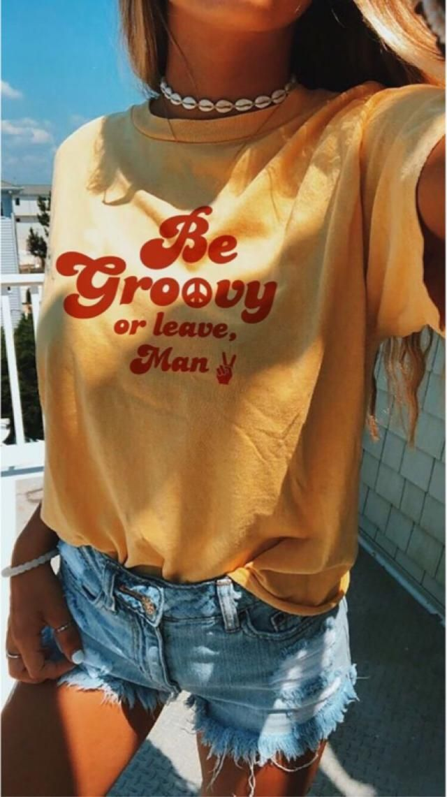 Be groovy or leave man✌🏻