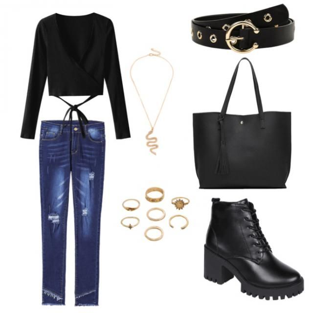 Hermoso outfit para el día y la noche! 🔝