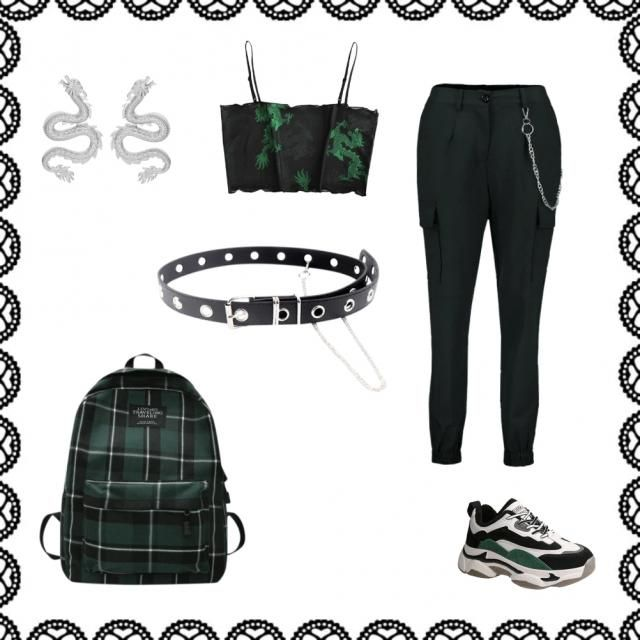 Green Dragon Street Style