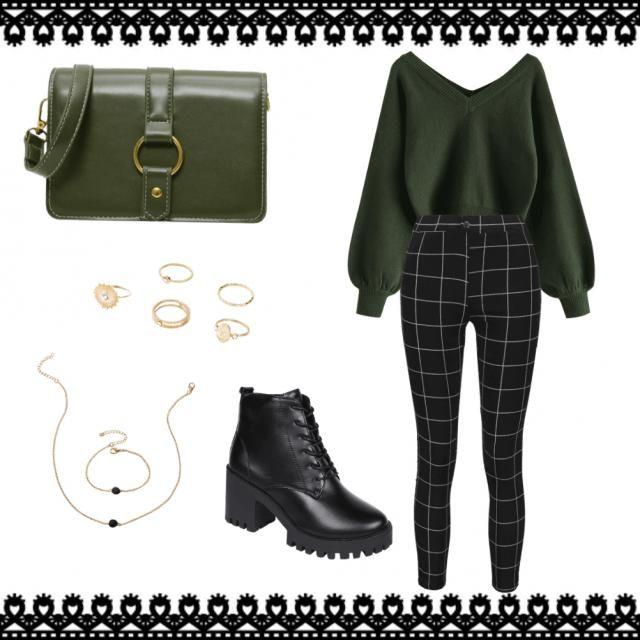 Dark Green Elegant Style