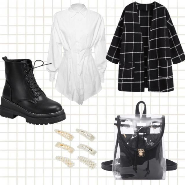 A summer outfit or fall in cali little punk and elegant